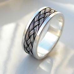 Wide Celtic - Sterling Silver Men's Wedding Band, Men's Celtic Ring by edhelien on Etsy https://www.etsy.com/listing/218622094/wide-celtic-sterling-silver-mens-wedding