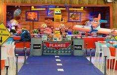 Como Decorar Festas - Tema Aviões Disney    O filme Aviões Disney é uma excelente temática para festa infantil de meninos             ...