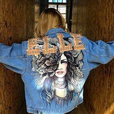 Jaquetas jeans podem ser muito descolada!