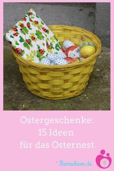 Geschenkideen zu Ostern - die besten Kleinigkeiten für Kinder | Mamaclever.de Laundry Basket, Bff, Wicker, Organization, Decor, Easter Baskets For Toddlers, Gifts For Toddlers, Toys For Toddlers, Organisation