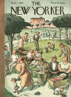 The New Yorker - Saturday, September 1, 1934 - Issue # 498 - Vol. 10 - N° 29 - Cover by : William Steig