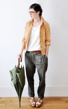 spring casual look Androgynous Fashion, Tomboy Fashion, Look Fashion, Womens Fashion, Androgynous Girls, Queer Fashion, Tomboy Outfits, Emo Outfits, Urban Fashion