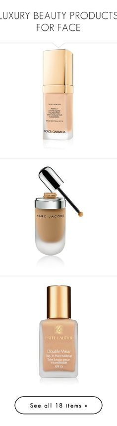 """""""LUXURY BEAUTY PRODUCTS FOR FACE"""" by vasso960 ❤ liked on Polyvore featuring beauty products, makeup, face makeup, foundation, liquid foundation, dolce gabbana foundation, liquid mineral foundation, mineral foundation, marc jacobs and oil free foundation"""