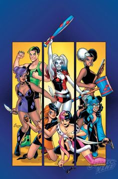Harley Quinn And Her Gang Of Harleys Miniseries Announced.: Harley Quinn And Her Gang Of Harleys Miniseries Announced… Akira, Joker Und Harley Quinn, Arte Nerd, Gotham Girls, Dc Memes, Margot Robbie, Marvel Dc Comics, Arts Jobs, Army