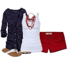 Top 16 Patriotic Casual Woman Outfits For July 4th – Famous Spring Holiday Fashion - Easy Idea (17)