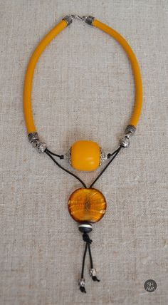 Eyecatching Tribal Sunset Necklace by SHAMAporti on Etsy