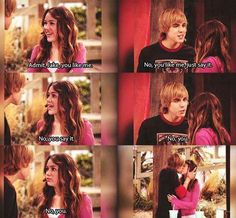 Hannah Montana :-) I'm kinda wondering what Jake has turned out to be... :')