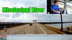 Mississippi River Rudi's NORTH AMERICAN ADVENTURES 02/20/18 Vlog#1350 - YouTube Mississippi, River, Adventure, American, World, Youtube, The World, Fairytail, Youtubers