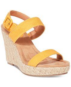 Style&co. Radleyy Platform Espadrille Wedge Sandals