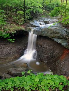 Blue Hen Falls, Cuyahoga Valley Ohio