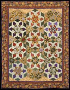 Gardens of Paris. Quilt from Doubledipity: More Serendipity Quilts by Sara Nephew