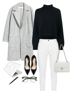 Sin título #107 by fautumm on Polyvore featuring polyvore, fashion, style, Rejina Pyo, H&M, Zhenzi, Recover, Chanel, John Lewis and clothing