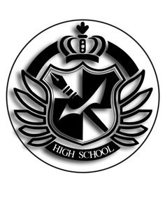 Hopes Peak Academy Logo Pin by BrittanysDesigns.deviantart.com on @deviantART