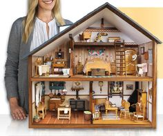 handgefertigte puppe h user miniatur puppenhaus beleuchtung holz haus zimmer box miniaturen diy. Black Bedroom Furniture Sets. Home Design Ideas