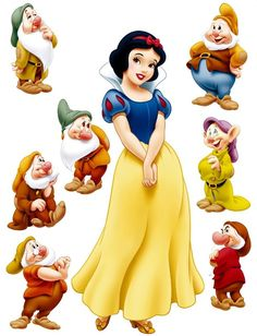 Colors for snow white & the seven dwarves