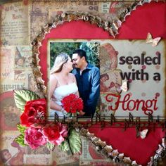sealed with a hongi - Scrapbook.com