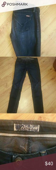 Hudson darkwash skinny jeans Lightweight denim, a great classic jean made by Hudson. Hudson Jeans Jeans Skinny