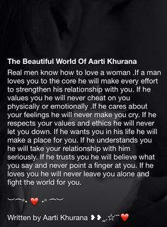 Aarti Khurana 'thought provoking' lovely Love Poems, Love Quotes For Him, Great Quotes, Inspirational Quotes, Man In Love, Love You, Relationship Quotes, Life Quotes, Sexy Talk