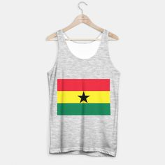 GHANA (FLAG) Tank Top regular
