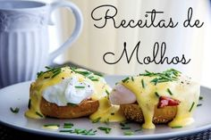 Eggs Benedict is the ultimate brunch dish — toasted and buttered English muffin, Canadian bacon, poached eggs, and finished with a silky hollandaise. Brunch Dishes, Brunch Recipes, Breakfast Recipes, Breakfast And Brunch, Sunday Brunch, Bottomless Brunch, Hollandaise Sauce, Omelette, Order Food