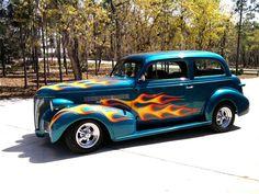 1939 Chevrolet 2-Door Sedan.