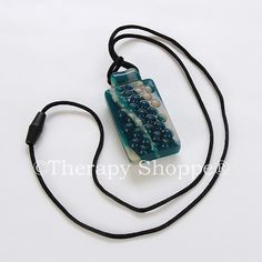 XT textured chewy necklace - The most durable chewable necklace charm we carry! Extra tough.