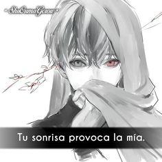 Tu sonrisa #ShuOumaGcrow #Anime #Frases_anime #frases
