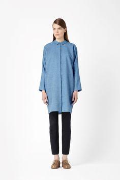Cotton and linen dress