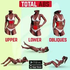 Total Abs and more routines! Double Tap and SAVE if you find these tips useful! Total Abs, Total Ab Workout, Great Ab Workouts, Ab Workout At Home, Workout Challenge, At Home Workouts, Yoga Positionen, Fitness Motivation, Yoga Routine