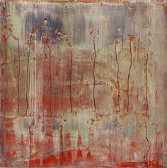 Gerhard Richter, Abstraktes Bild (Abstract Painting), 2008. Oil on wood. 40cm H x 40cm W. [906-11]