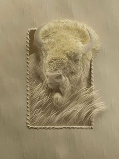 Astounding Animal Sculptures Made From Cut Layers of Paper http://designwrld.com/paper-animal-sculptures-calvin-nicholls/