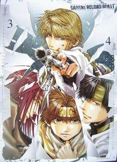 Saiyuki Reload - For Characters and Scenes