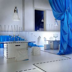 Stitched Surface Interiors Design Inspirations
