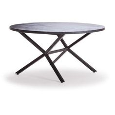 Stylizimo - Design Voice - Loft sofabord Ø90 cm, svart