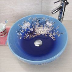 LOVE the idea od large chinese bowl as sink in bathroom...do need to sort out bathroom sink (MIXER TAP, ZOMG)