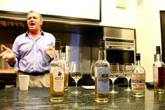 Scotch tasting with Compass Box Whiskey and Greg Seider, Owner of Summit Bar
