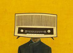 Radioheads by Toni Demuro