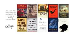 10 Recommended Reads from Caitlyn - Classics and modern-day classics (yah! Harry Potter!)