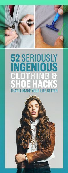 52 Seriously Ingenious Clothing And Shoe Hacks That'll Make Your Life...