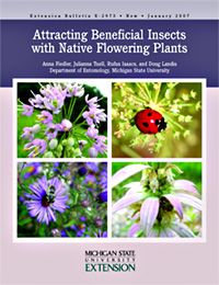 Here's some really great information for you and your clients about native plants, flowering times and which beneficial insects they attract to the landscape. From Michigan State via UIUC Extension.