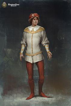 ArtStation - Kingdom Come: Noble men, Roman Mindek