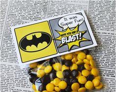 Superhero Collection. PERSONALiZED Water Bottle by PinkadotShop Lego Batman Party, Fiesta Batman Lego, Batman Birthday, Superhero Birthday Party, 4th Birthday Parties, Boy Birthday, Batman Party Favors, Birthday Ideas, Super Hero Birthday
