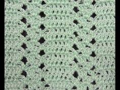 Crochet : Punto Calado # 17 - YouTube