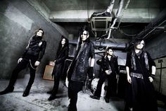 Sel'm #visualkei #japan #japanese #musician #costumes #gothic #goth #band #rock #black #alternative
