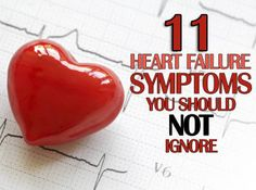 11 Heart Failure Symptoms You Should Not Ignore