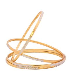 Bangles - Shop for Bangles & bracelets for Women & Girls in different styles Online. Get gold & silver plated Bangles & bracelets at best price on Craftsvilla. Gold Jewelry Simple, Gold Rings Jewelry, Jewlery, Gold Bangles Design, Gold Jewellery Design, Bangle Set, Bangle Bracelets, Bridal Bangles, Gold Plated Bangles