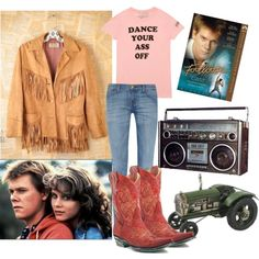 Designer Clothes, Shoes & Bags for Women Cute Costumes, Movie Costumes, Costume Ideas, School Fashion, 80s Fashion, Fashion Outfits, Country Girls Outfits, Girl Outfits, Footloose Musical
