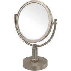 8 inch Vanity Top Make-Up Mirror, 5x Magnification (Build to Order)