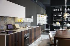 Una de las cocinas de BOFFI que encontraréis en el showroom de Aquaquae.