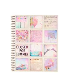 a4 campus notebook ($9.95) ❤ liked on Polyvore featuring home, home decor, stationery, fillers, books, notebooks and other